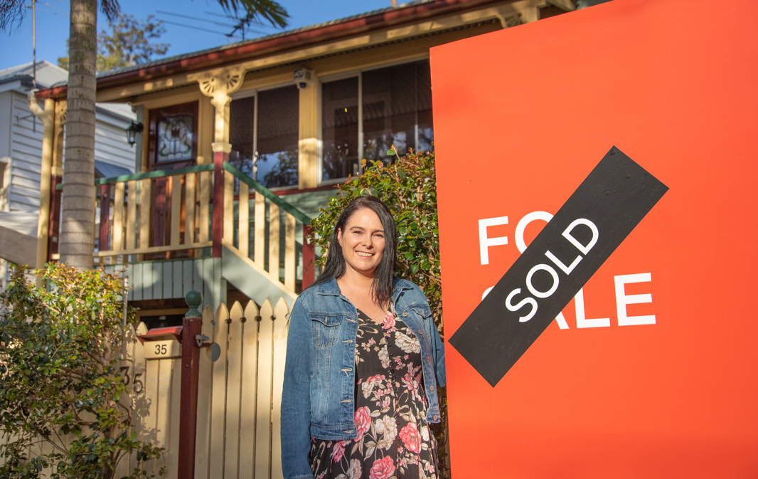 Cindy Chalker, a single mum of two kids, was able to take advantage of several government schemes, including the FHG to secure a home for her family.